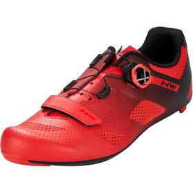 Northwave Storm Carbon Shoes Men, rood/zwart